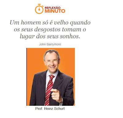 Mensagem do Prof. Heinz