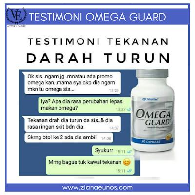 Testimoni Omega Guard Shaklee