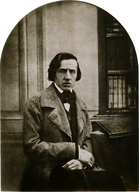 Frédéric Chopin circa 1849, the year of his death