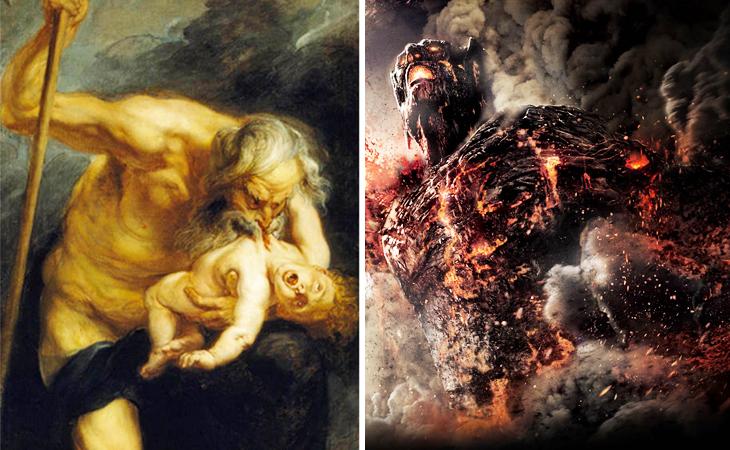 Nimrael, yunan mitolojisi, kronos, mitoloji, Tanrı kronos, titan kronos, ilkel kronos, tahtını kaptırmamak için çocuklarını yiyen kronos, din ve mitoloji, dünya yumurtasını açan kronos,