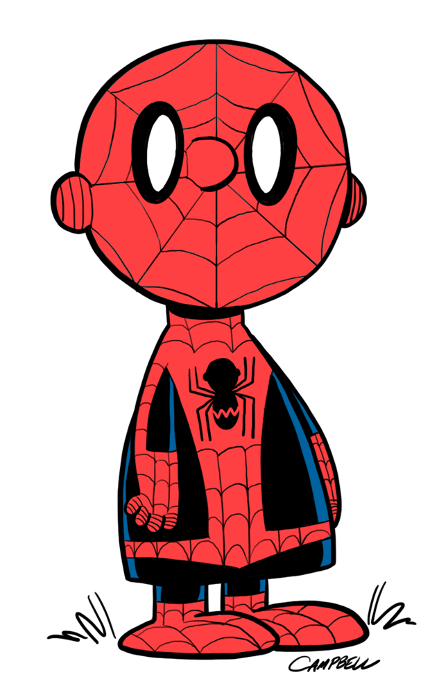Peanuts As Spiderman