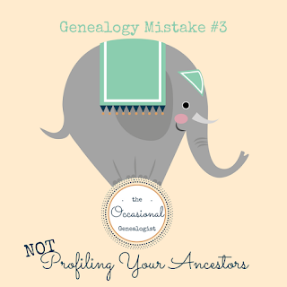 Not doing something is sometimes the worst genealogy mistake. You need to profile your ancestors to recognize them in records when all the superficial details are the same. | #genealogy #familyhistory #genealogymistakes