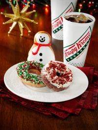 news krispy kreme seasonal christmas doughnuts - Krispy Kreme Christmas Hours