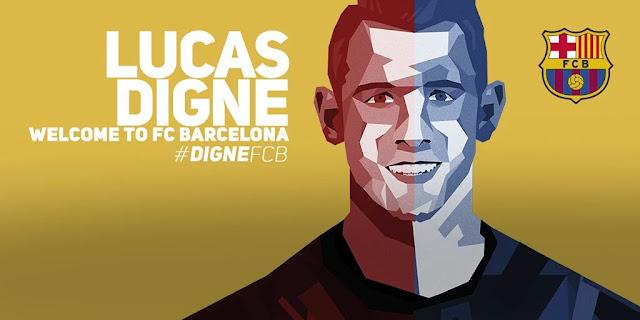 OFICIAL: Digne é o novo reforço do Barcelona