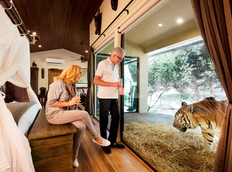 australia tourism canberra jamala wildlife lodge attraction