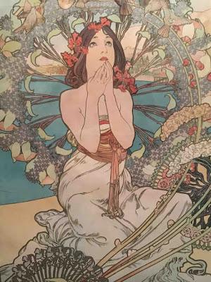 Symbole de l'Art Nouveau, l'artiste tchèque Alphonse Mucha est mis à l'honneur au Musée du Luxembourg