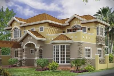 desain rumah fengshui