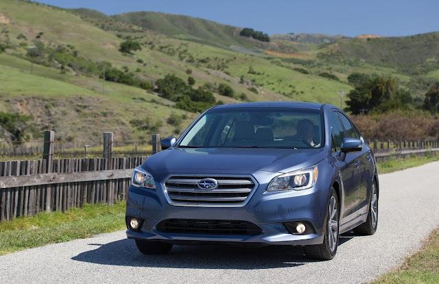 2015 Subaru Legacy sedan blue