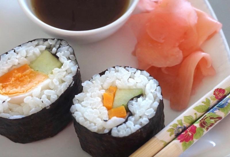50 looks of lovet topfgucker bunt wie der herbst sushi maki selber machen fashion 40 50. Black Bedroom Furniture Sets. Home Design Ideas