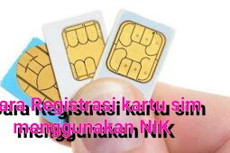 Cara registrasi kartu sim dengan NIK sesuai peraturan terbaru agar tidak terblokir