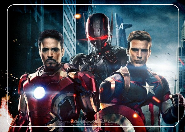 avengers party free printable