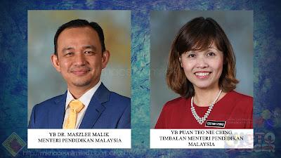 Hasil carian imej untuk menteri pendidikan malaysia