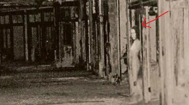 penampakan nyata hantu wanita di bekas rumah sakit
