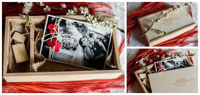 scatola legno album matrimonio