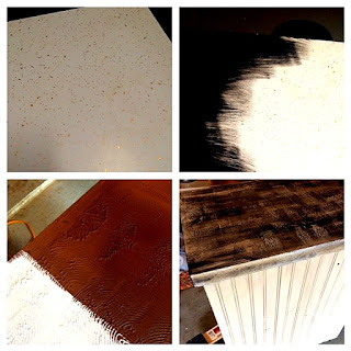 Nancy S Creations Painting Laminate Counter Top