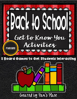 https://www.teacherspayteachers.com/Product/Back-to-School-Get-to-Know-You-Activities-2597089