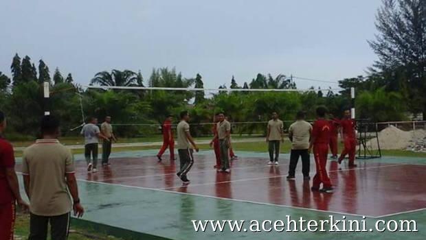 Wujudkan Pilkada Damai 2017, TNI Polri Bangun Kebersamaan dengan Olahraga Bersama