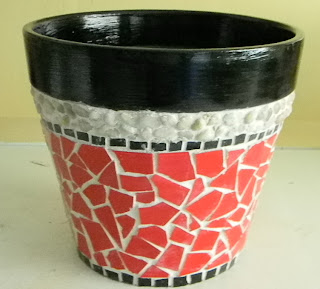 My Home In The Heights Mosaic Pot 2