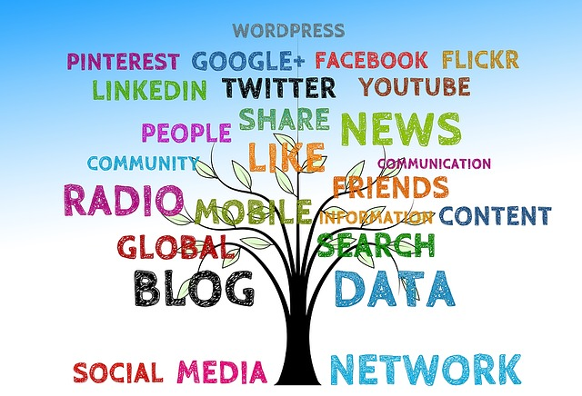 Tree Social Media Structure Networking