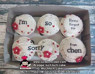 Cupcake Permintaan Maaf