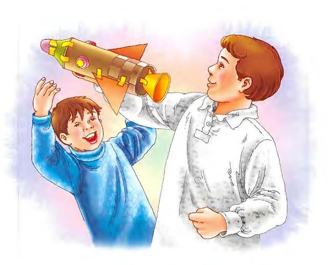 قصص للاطفال بالصور - قصة سفينة فضاء عمر (لتعليم شكر الاخرين)