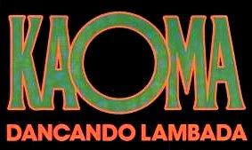Imagen con el texto : Dancando Lambada - Kaoma