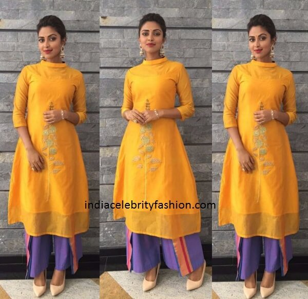 Amala Paul in Rouka Ensemble