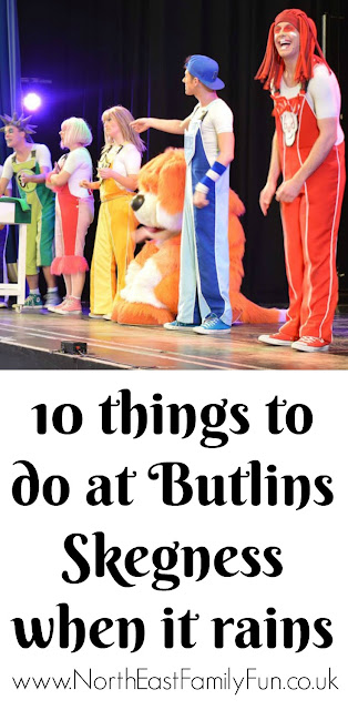 10 things to do at Butlins Skegness when it rains including swimming, puppet theatre, the Butlins Cinema and Angelina Ballerina dance school