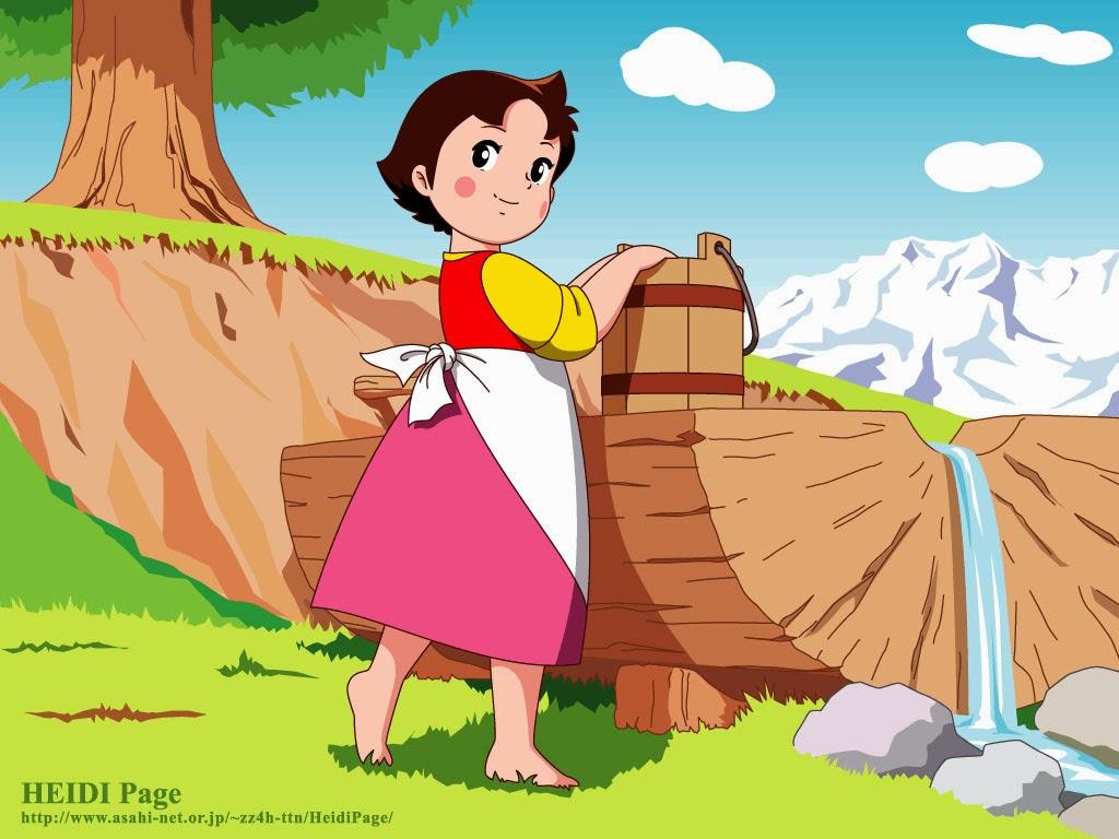 CartoonColors: Çıplak Ayaklı Heidi..