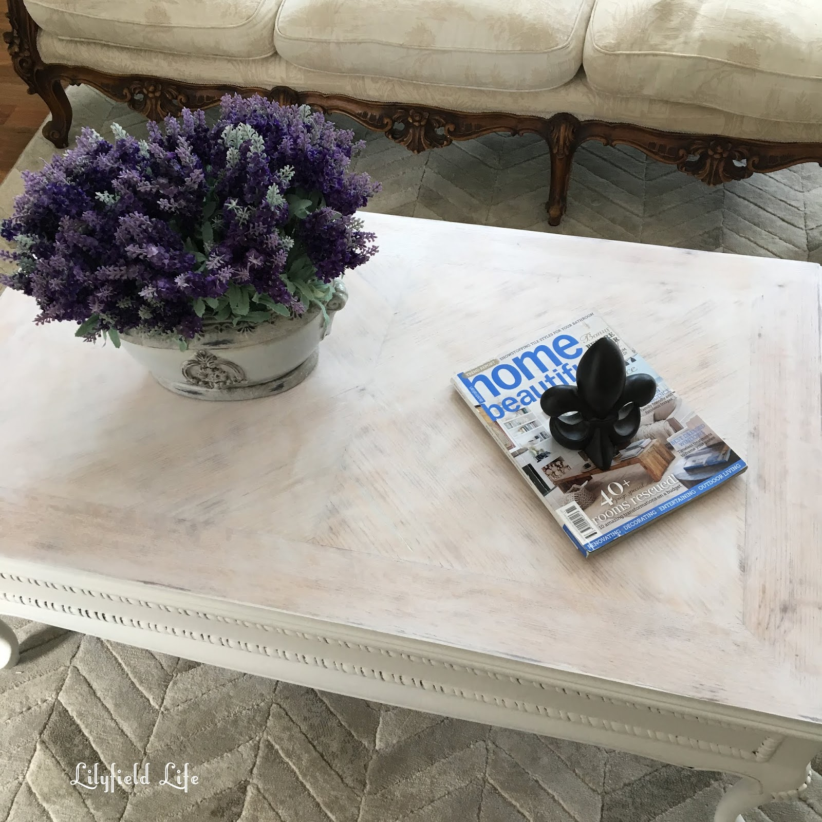 Lime Wash Coffee Table Lilyfield Life A Limed White Coffee Table