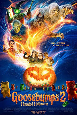 Goosebumps 2: Haunted Halloween (2018) English 720p HDCAM-Rip x264 Free Download