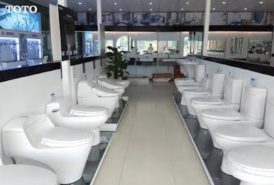 Xem mức giá thiết bị phòng vệ sinh Toto thật tại đại lý thiết bị nhà vệ sinh Hita