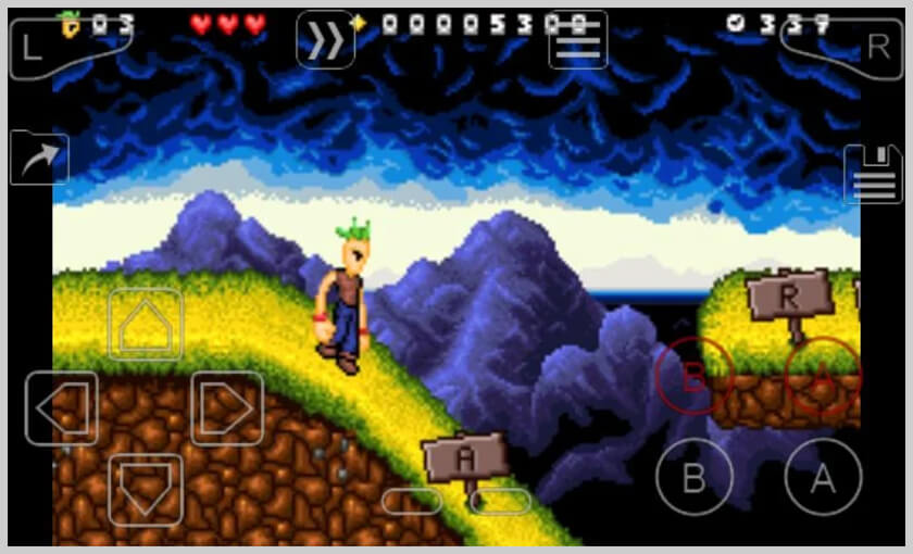 screenshot my boy gba emulator para android