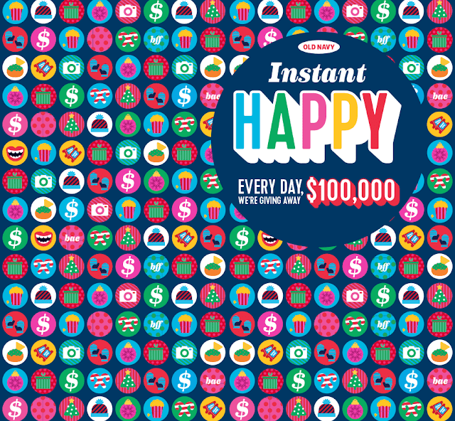 Old Navy Canada Giving Away $100.000 a Day