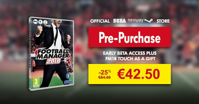 Buy Football Manager 2018 | 25% OFF