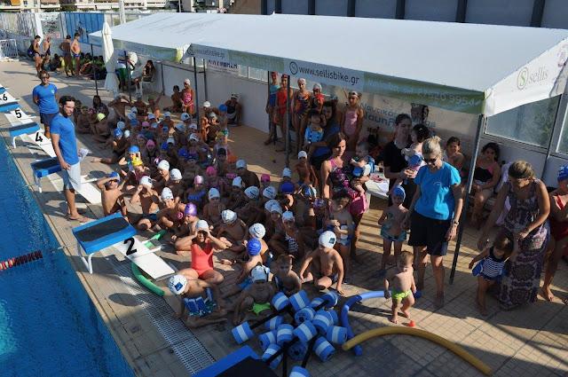 Με κολυμβητικές επιδείξεις η γιορτή του Ναυτικού Ομίλου Ναυπλίου
