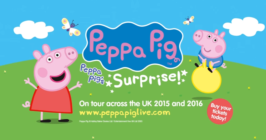 NickALive!: Peppa Pig's Surprise Coming To London's West ...