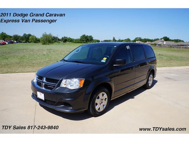 for sale 2011 dodge grand caravan express van passenger tdy sales 817 243 9840 dfw. Black Bedroom Furniture Sets. Home Design Ideas