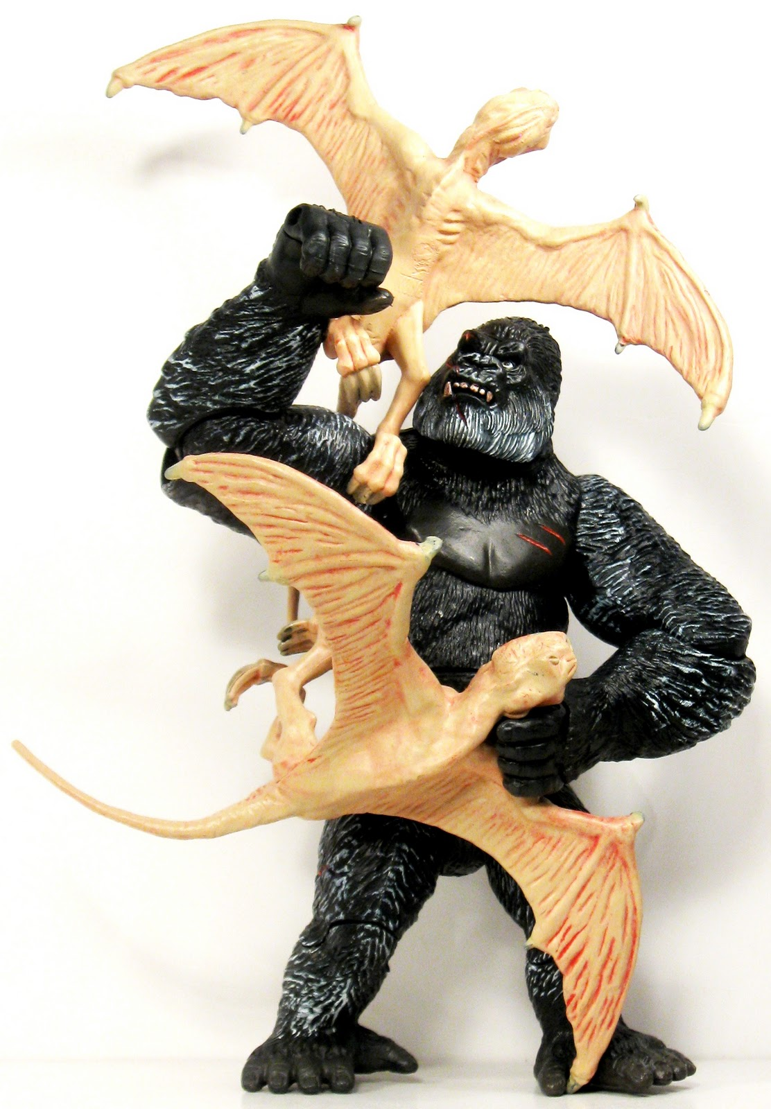 Download Toys and Stuff: Playmates - #66004 Kong vs Terapusmordax