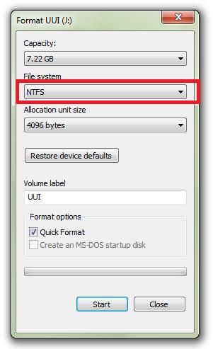 Mengatur file sistem