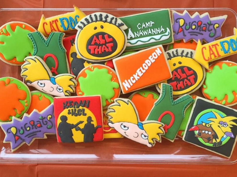 Nickalive man has epic nickelodeon themed throwback for 90 s decoration ideas