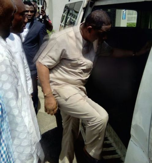 PHOTO: Fani-Kayode Re-Arrested By EFCC