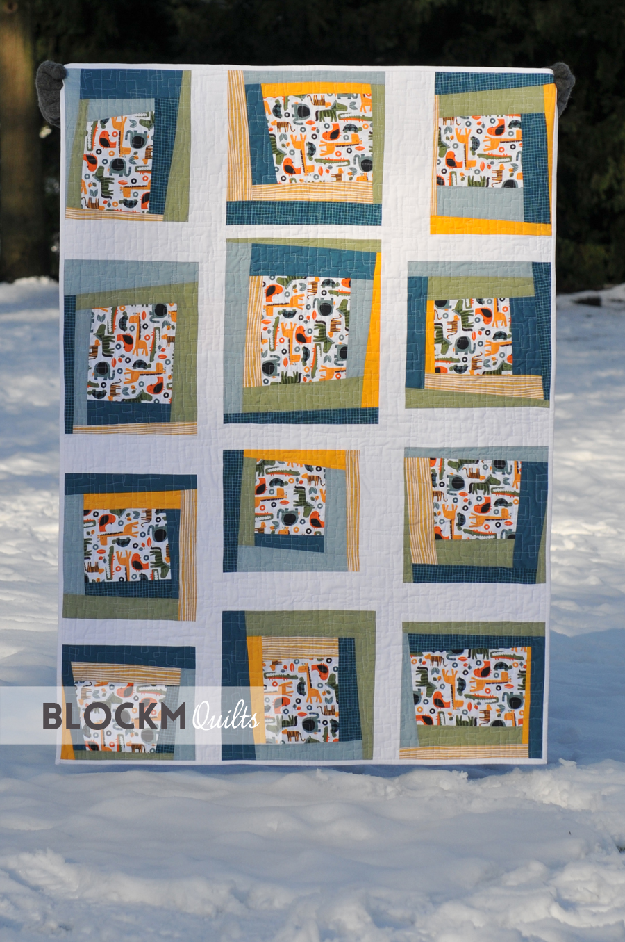 Baby Quilts.com Block M Quilts A Long Overdue Baby Quilt