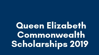 Scholarships for Commonwealth countries 2019