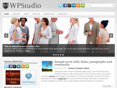 Free WpStudio WordPress Theme