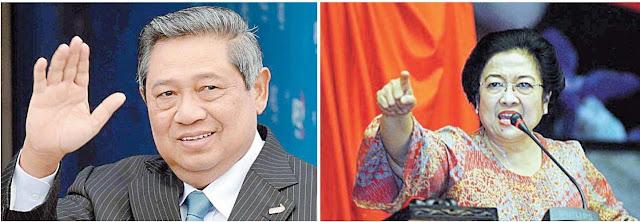 Duet Jokowi-AHY Terganjal Perang Dingin Mega-SBY ?