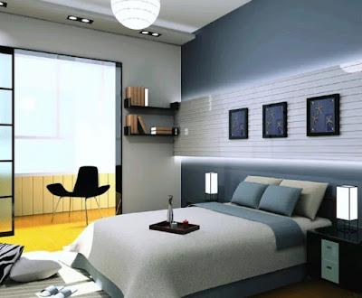 desain kamar tidur 3x3 minimalis terbaru