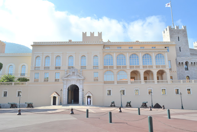 Prince's palace in monte carlo monaco