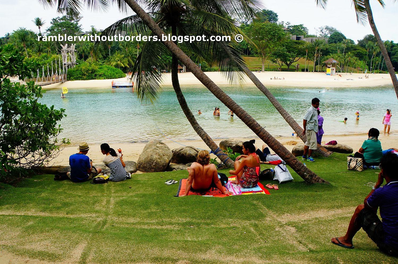 Palawan Island's beach, Sentosa, Singapore