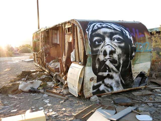 Oakland Street Artist Eddie Colla's Works Explore Fear, Alienation And Oppression
